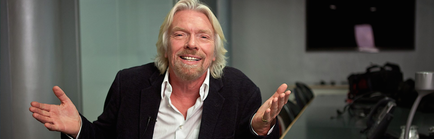 Exklusivt med Sir Richard Branson