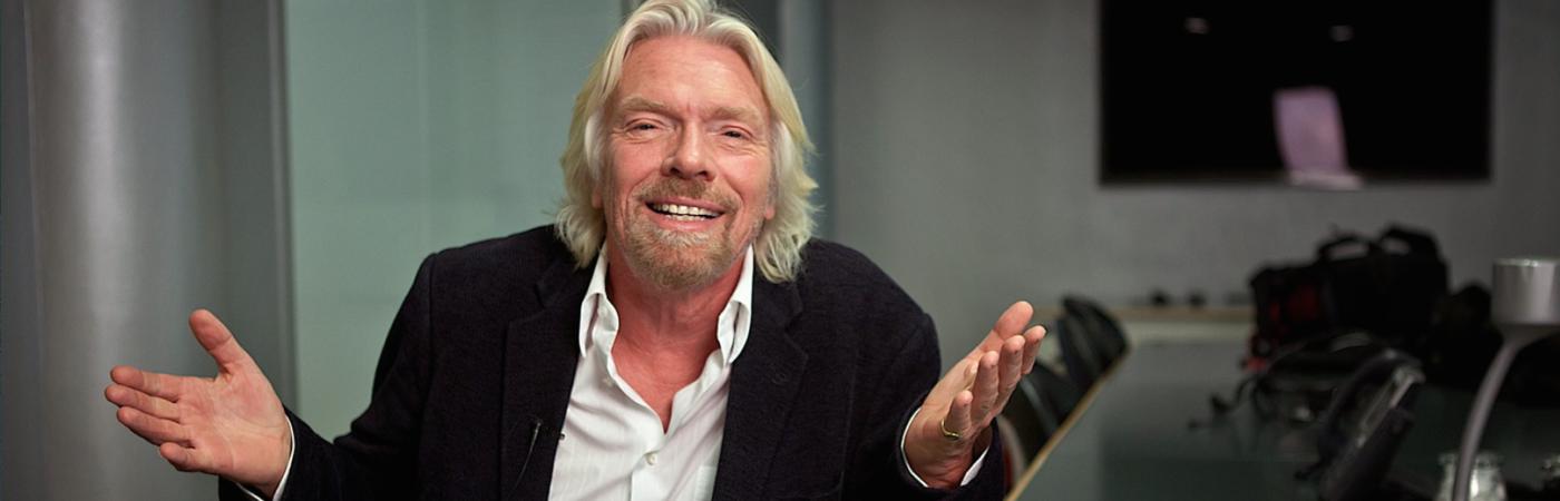 Exklusivt med Sir Richard Branson